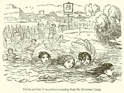 Claelia and Her Companions Escaping from the Etruscan Camp