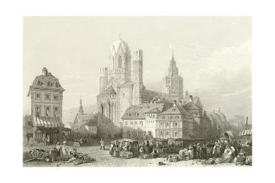 Mayence Cathedral, Rhine