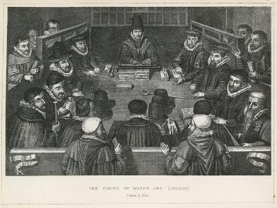 The Court of Wards and Liveries in the Time of Queen Elizabeth I
