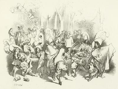After Richelieu's Decree Against Duelling