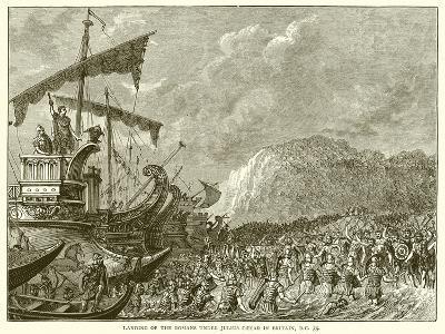 Landing of the Romans under Julius Caesar in Britain, B.C. 55