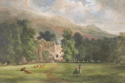 Valle Crucis or Dinas Bran, Llangollen, 1872