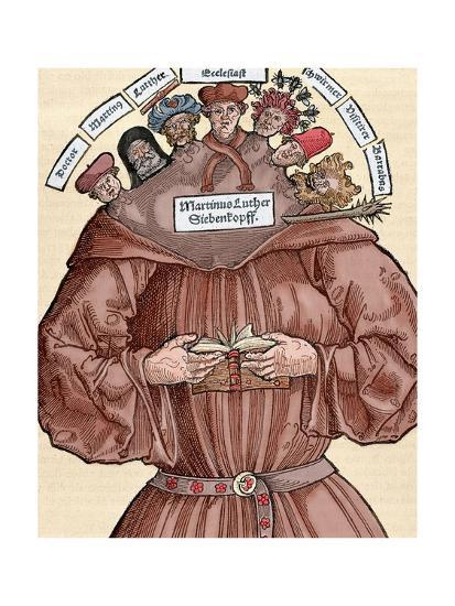 Protestant Reformation 16th Century Germany Satire Against