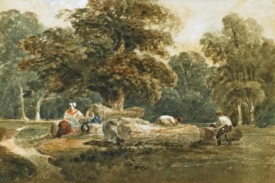 Timber Sawing, C.1820