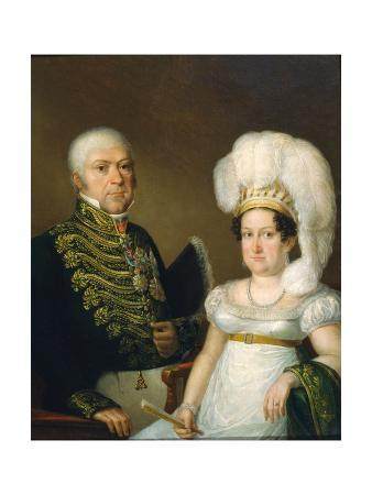 Portrait of a General and His Wife