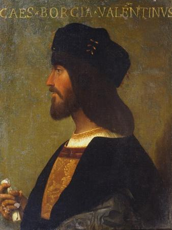Portrait of Cesare Borgia