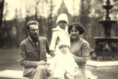 Foto Ak Prinz Ludwig Philipp Von Thurn U Taxis, Elisabeth, Anselm, Iniga