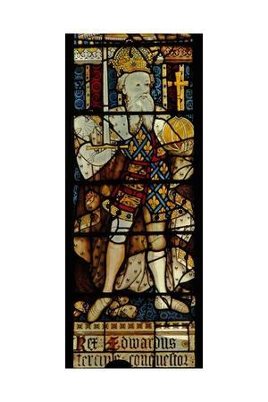 Window Ww Depicting King Edward III