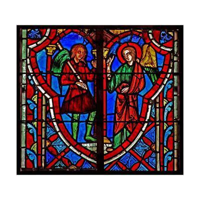 Window W5 Gideon Meets and Angel. Judges VI 11