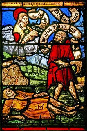 Window W2 Depicting Cain Kills Abel