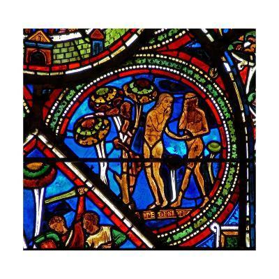Window W15 Depicting the Good Samaritan Window: Adam and Eve Eat the Forbidden Fruit