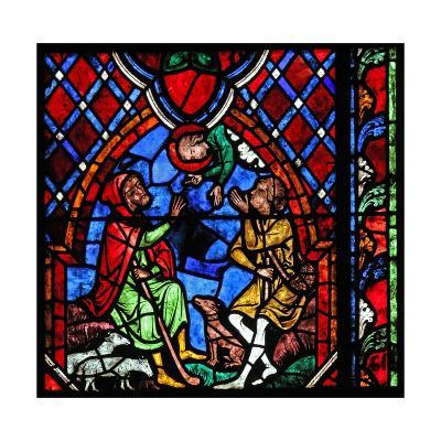 Window W01 Depicting the Annunciation to Shepherds