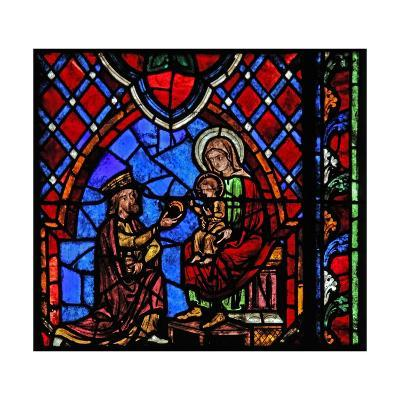 Window W01 Depicting the Adoration of the Magi