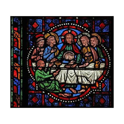 Window W02 Depicting the Last Supper