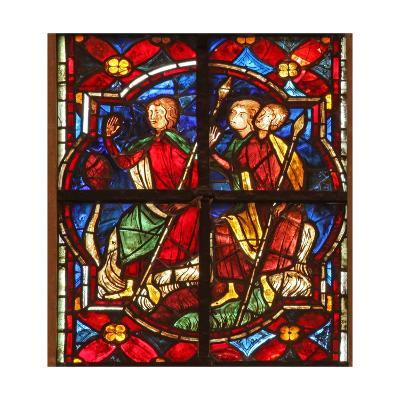 Window W212 Depicting Soldiers Observe St John the Baptist Preaching