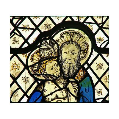 Window W45 Depicting the Trinity