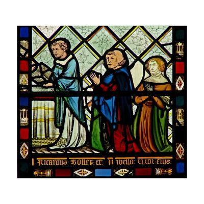Window W46 Depicting Donors