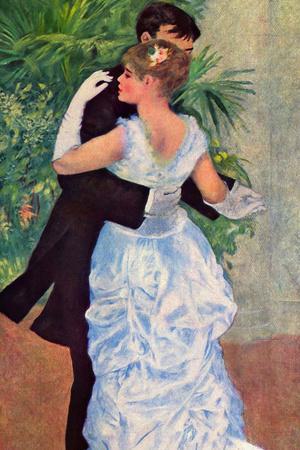 Pierre-Auguste Renoir (Dance in the City) Plastic Sign