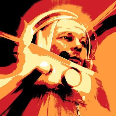 Yuri Gagarin, Soviet Cosmonaut, Artwork