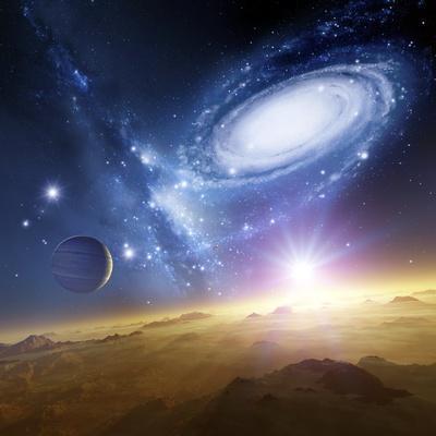 Colliding Galaxies, Artwork