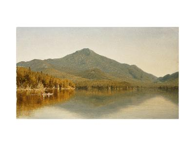 Mount Whiteface from Lake Placid, in the Adirondacks