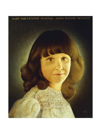 Portrait of Mary Van Vechten Schaffer