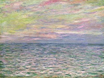 On the High Seas, Sunset at Pourville