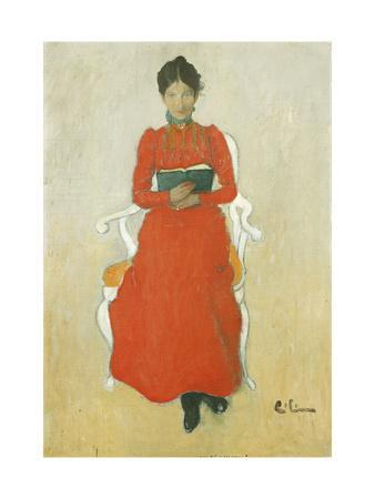 Portrait of Dora Lamm