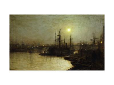 Night Toil, Billingsgate Wharf