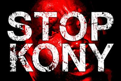 Stop Joseph Kony 2012 Face Political Plastic Sign