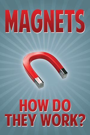 Magnets How Do They Work Plastic Sign