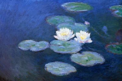 Claude Monet Water-Lilies 7 Plastic Sign