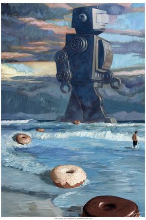 Summer - Eric Joyner Plastic Sign