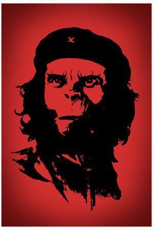 Ape Revolution Movie Plastic Sign