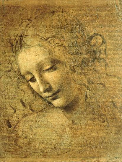 Head Of A Young Woman La Scapigliata The Lady Of The