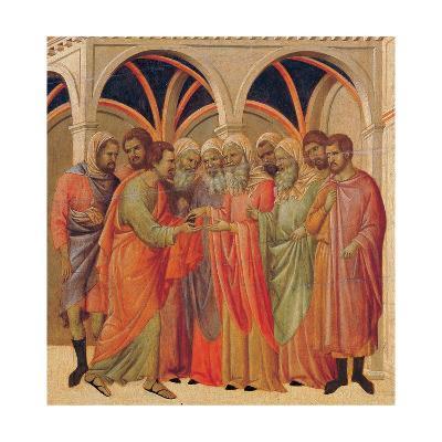 The Maestà, Front, by Duccio Di Buoninsegna, 1308 - 1311, 14th Century, Tempera on Panel