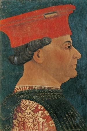 Portrait of Francesco Sforza