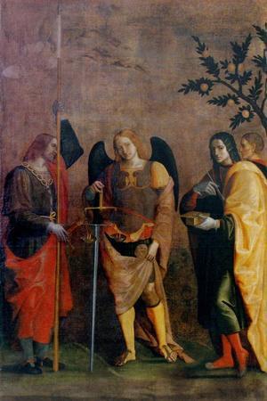 St. Bovo, Archangel Michael, St. Cosmas and St. Damian