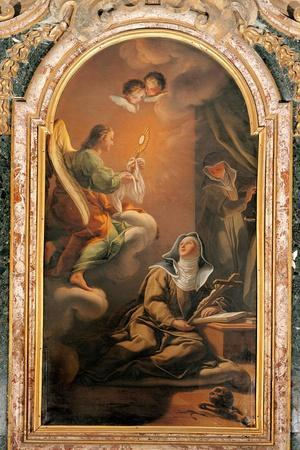Vision of St. Clare