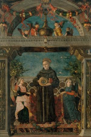 St. Bernardine of Siena and Angels