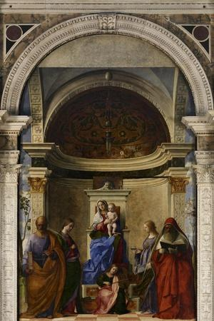 San Zaccaria Altarpiece (Madonna Enthroned)