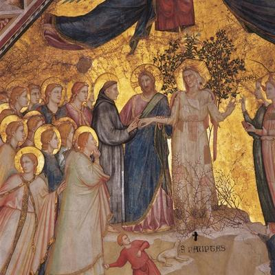 Mystical Marriage of St. Francis to Poverty