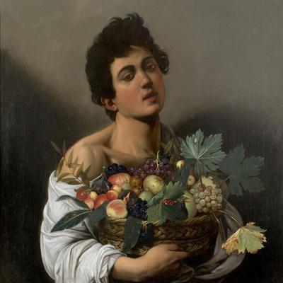 Fruit seller (Boy with Basket of Fruit)