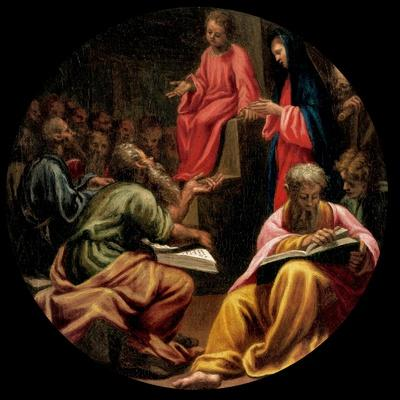 Mysteries of the Rosary, Christ, the Disputation