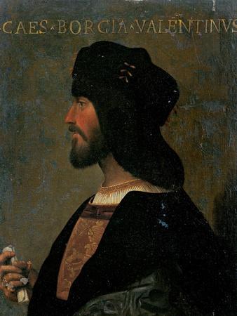 Portrait of Cesare Borgia