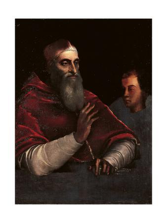 Portrait of Pope Paul III Farnese with a Grandson