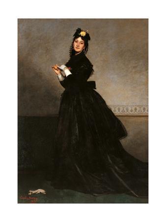 Lady with a Glove (Mrs. Carolus Duran, a.k.a. Pauline Croizette)
