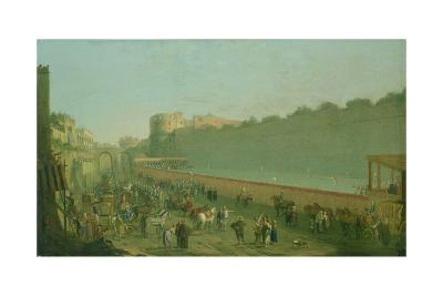 A Game of Pallone at Naples, c.1768