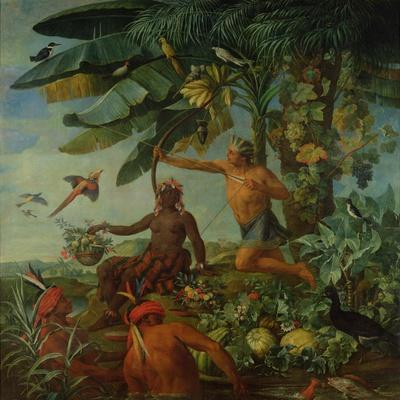 The Indian Hunter and Fisherman, 1741