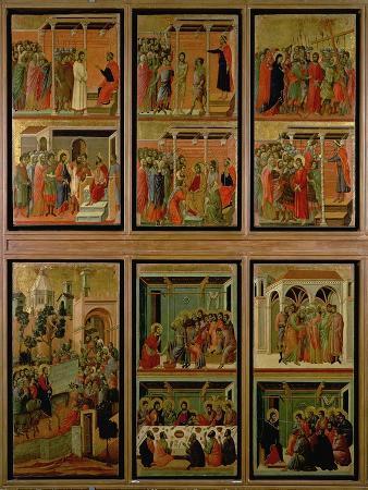 Maesta: Eleven Scenes from the Passion, 1308-11